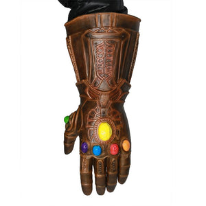 XCOSER Avengers: Infinity War Gauntlet Thanos Latex Gloves Cosplay Costume Accessories Props