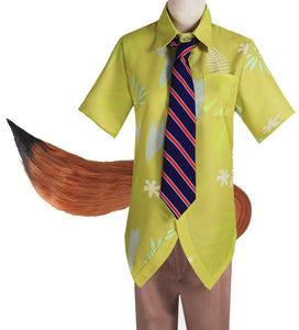 Zootopia cosplay Nick costume