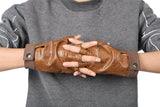 Jyn Erso Brown Fingerless Gloves Rogue One: A Star Wars Story COSplay Accessories - Xcoser Costume
