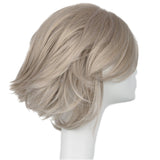 Xcoser Periwinkle Wig Straight Short Gray Wig Anime Tinker Bell: Secret of the Wings Cosplay Wigs