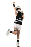 Xcoser Team Skull Female Grunts Costume Pokemon Sun and Moon Cosplay Costume Woman's Size