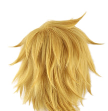 Ezreal Wig League of Legends Ezreal Golden Yellow Cosplay Wig - Xcoser Costume