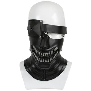 Xcoser Tokyo Ghoul Live-Version Feature Flim Ken Kaneki Cosplay Black Mask