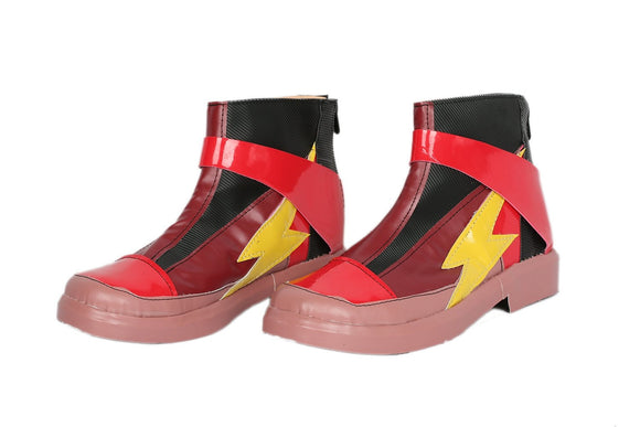 Xcoser Justice League the Flash Cosplay Boots