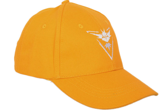 Pokemon GO Zapdos Yellow Color Cap Embroidered and Unisex Style baseball Cap