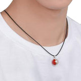 Pokemon Poke Ball GS Necklace PM Genius Pendant Cosplay Accessories