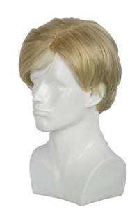 Xcoser Donald Trump Cosplay Wig Mens Short Light Brown Faux Hair Mr. President Wig Costume Accessory
