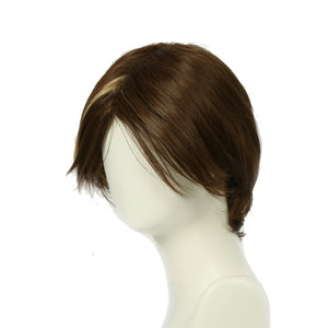 Xcoser Game of Thrones Arya Stark Short Brown Cosplay Wig