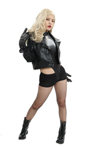 Black Canary Costume Green Arrow Black Canary Cosplay Women Outfit Black