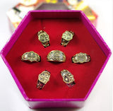 Xcoser Costumes Katekyo Hitman Reborn Ring Necklace Set Cosplay