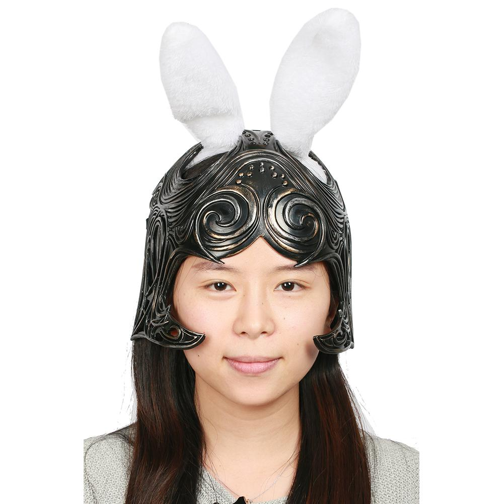 XCOSER Final Fantasy XII The Zodiac Age Game Cosplay Fran Helmet Fran Cosplay Costume Mask