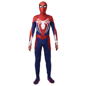 Xcoser Free Shipping Spiderman PS4 Video Game Cosplay Jumpsuit