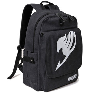 Fairy Tail Backpack Anime Fairy Tail Logo Bag School Backpack - Xcoser Costume