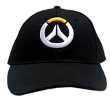 Overwatch Hat Adults Black Cool Baseball Adjustable Cap Cosplay Costume Accessories