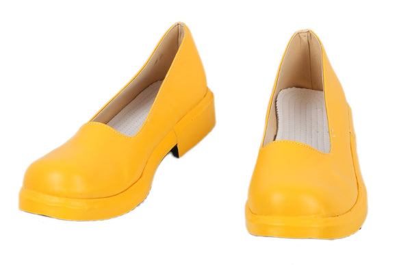 Xcoser PU Shoes Iron First Yellow Shoes Iron First Cosplay Shoes