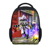 Plants vs Zombies Backpack Cartoon Kindergarten School Backpack For Kids