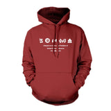 House of Cards Hoodie Pullover Cotton Fleece Sweater - Xcoser Costume