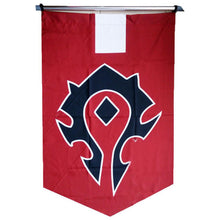 Dota Banner Cosplay Props DotA Shadow Fiend Nevermore Pattern Flag - Xcoser Costume