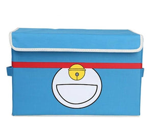 Cute Doraemon Box High Quality Oxford Fabric Foldable Storage Boxes With Lids - Xcoser Costume