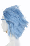Xcoser Hot Anime Rick and Morty Rick Cosplay Wig Layered Fluffy High Temperature Silk Short Hair For Men