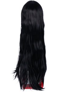 Xcoser The Mummy Wig Black Black Ultra-long Straight Hair The Mummy Cosplay Wig