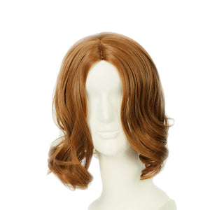 Tarzan of the Apes Wig Brown Wavy Wig Tarzan Cosplay Accessory
