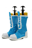 My Little Pony Boots Blue PU Leather Boots Cosplay and Halloween Shoes