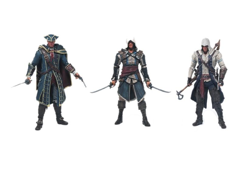 Assassin Creed Action Figure, Connor Action Figure