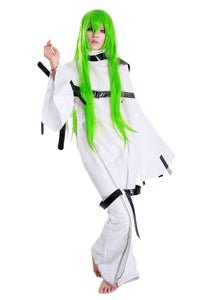 Xcoser Costume Code Geass C.C. cosplay White Tight Clothing