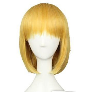 Attack on Titan Armin Arlart Short Bob Golden Cosplay Wig - Xcoser Costume
