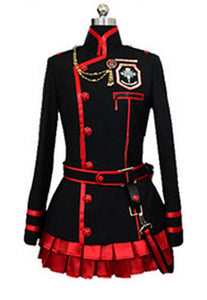 D Gray-Man Lenalee Lee Cosplay Exorcist Black Uniform Costume - Xcoser Costume