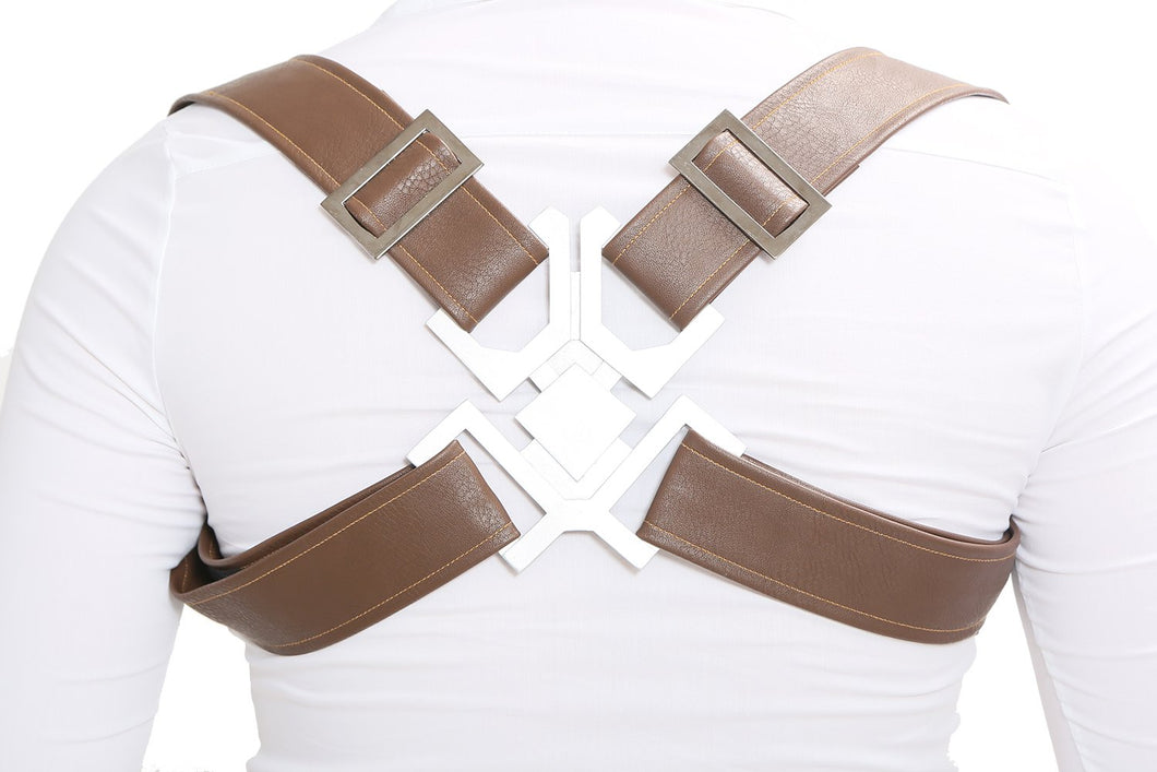 Captain America Adjustable Harness with Resin Buckle Accessory