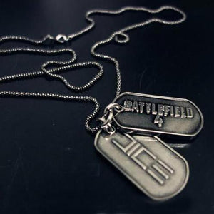 Xcoser Costumes Battlefield 4 Dog Tags For Sale Battlefield Cosplay Necklace