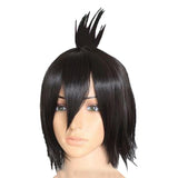 Zeref Wig Fairy Tail Zeref Dragneel Short Black Party Cosplay Heat Resistant Party Wig