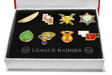 Pokemon Gym Badges Kanto Generation 1 & 2 & 3 Badges For Collection Set of 8