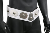Star Wars Princess Leia Organa Belt White PU Leather and Metal Cosplay Belt