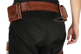 Hellboy Belt with Gun Holster PU Costume Accessories Movie COSplay - Xcoser Costume