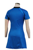 Star Trek Into Darkness Marcus Uniform Blue Dress Uniform Cosplay Costume for Woman