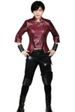 Xcoser Free Shipping Gamora Costume Dark Red Cotton & PU leather Costume