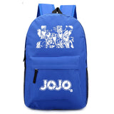 JOJO's Bizarre Adventure Manga Backpack with JOJO's Logo - Xcoser Costume
