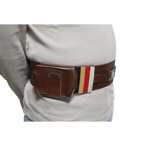 Halloween Cosplay XCOSER Star Wars Cosplay Brown PU Belt With Two Pouches