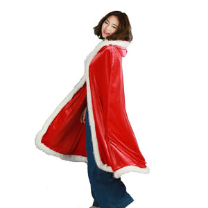 Halloween/Christmas Related Cape XCSOER Halloween/Christmas Derivative Related Cape With Velvet