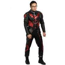 Halloween Cosplay XCOSER Batman Beyond Cosplay Batman Full Set PU Costume