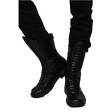 Halloween Cosplay XCOSER Batman Beyond Cosplay Batman Black PU Boots