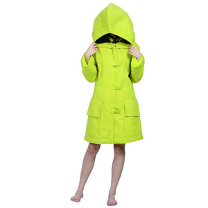 XCOSER Little Nightmares Game Cosplay Yellow Six Coat With Detachable Big Hat