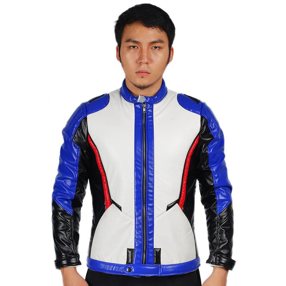 Xcoser Overwatch Soldier 76 Jacket Soldier 76 Cosplay Costume