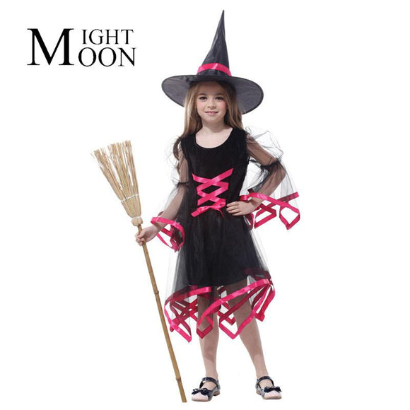 MOONIGHT Flying Witch Lovely Witch Costume For Cosplay Costume Halloween Costume Party Of The Girls