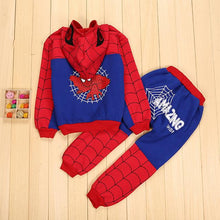 iMucci Spiderman Baby Boys Clothing Sets Cotton Sport Suit For Boys Clothes Spring Spider Man Cosplay Costumes KIds Clothes Set