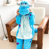 PSEEWE 2017 Children Anime Cosplay pyjama Flannel Onesies Kid Pajama sets Cartoon christmas Children pajamas for kids Boys Girls