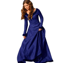 Autumn Vintage Women Medieval Renaissance Victorian Dress Cosplay Costume Princess Long Maxi Robe Femme Christmas Ball Gowns#1